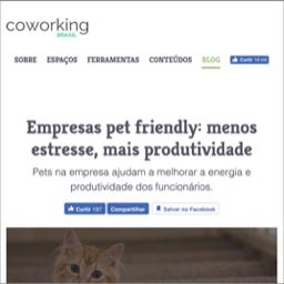 Empresas Pet Friendly. Menos estresse, mais produtividade